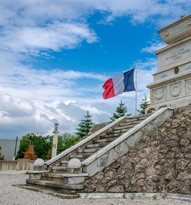French military cemetery of Bitola